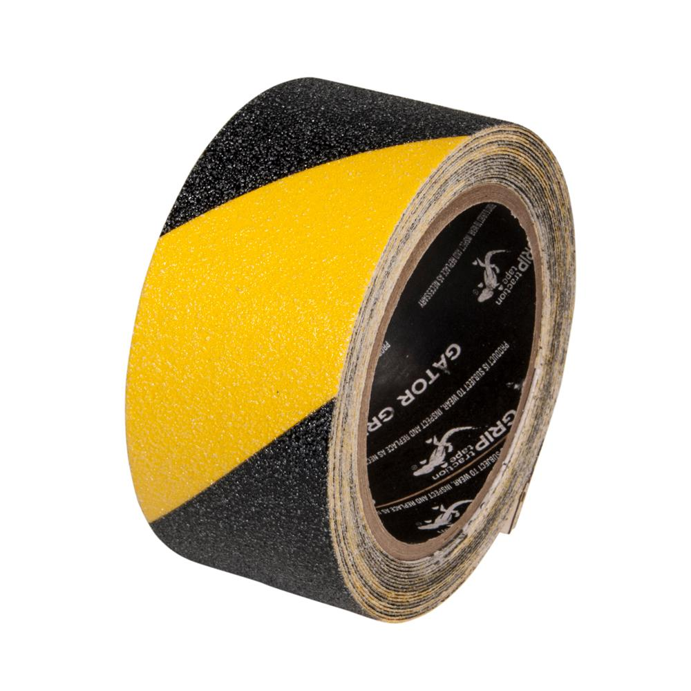 2 in. x 5 yds. Yellow/Black Anti-Slip Safety Tape