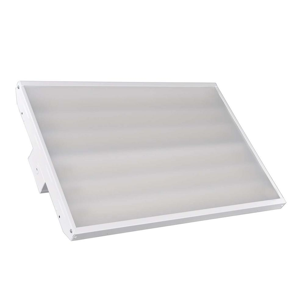 Halco Lighting Technologies 161-Watt 2 ft. 250-Watt Equivalent White Integrated LED High Bay Light Daylight 5000K with 21940 lumens 99650