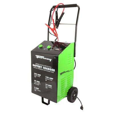 2/10/40/200 Amp 6/120-Volt Wheeled Battery Charger