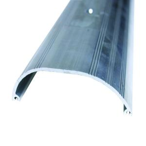M D Building Products Extra High Dome 4 In X 24 1 2 In Aluminum Threshold 99077024500 The Home Depot