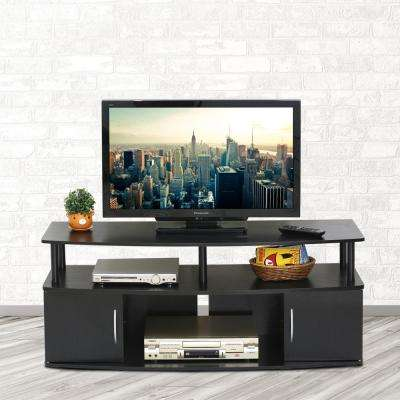 JAYA Blackwood Storage Entertainment Center