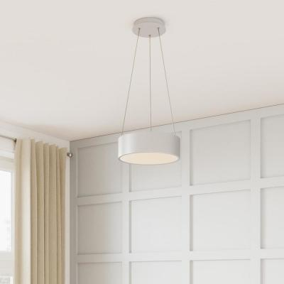 Hollandale 75-Watt Equivalence Integrated LED White Pendant