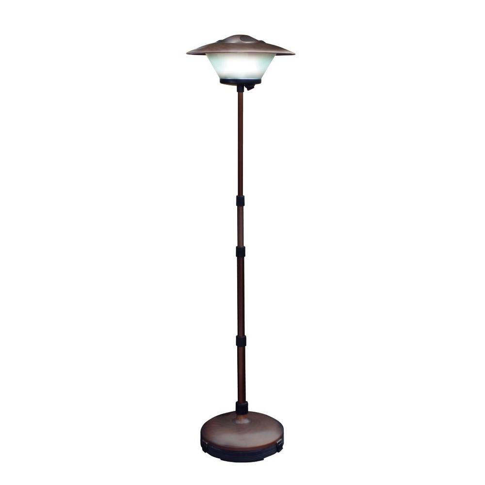 Outdoor floor lamps with heavy bases - 60 In