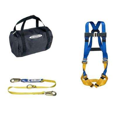 UpGear Aerial Kit with BaseWear Std Harness and 6 ft. DeCoil Tie-Back Lanyard