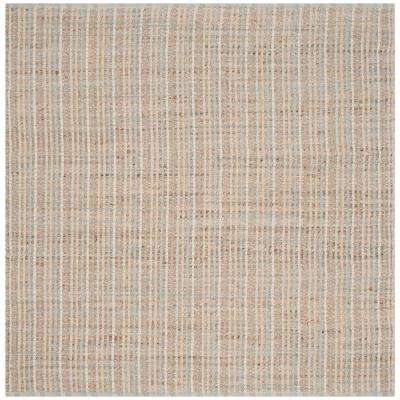 Cape Cod Natural 6 ft. x 6 ft. Square Area Rug