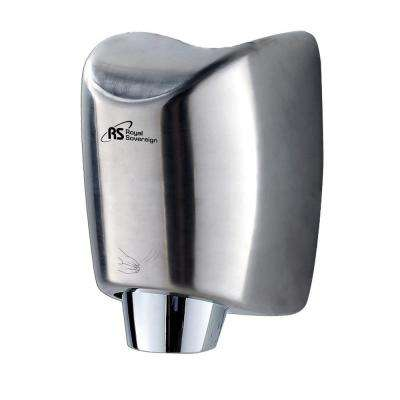 High Efficiency Touchless Electric Hand Dryer in Stainless Steel