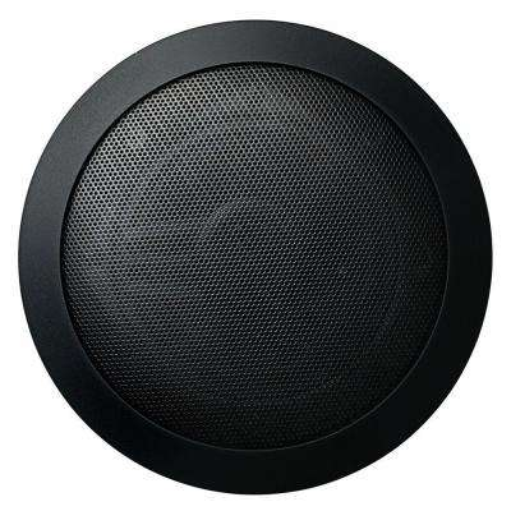 Music Therapy 60-Watt 2-Way Indoor/Outdoor Round Speaker System - Black (2-Pack)