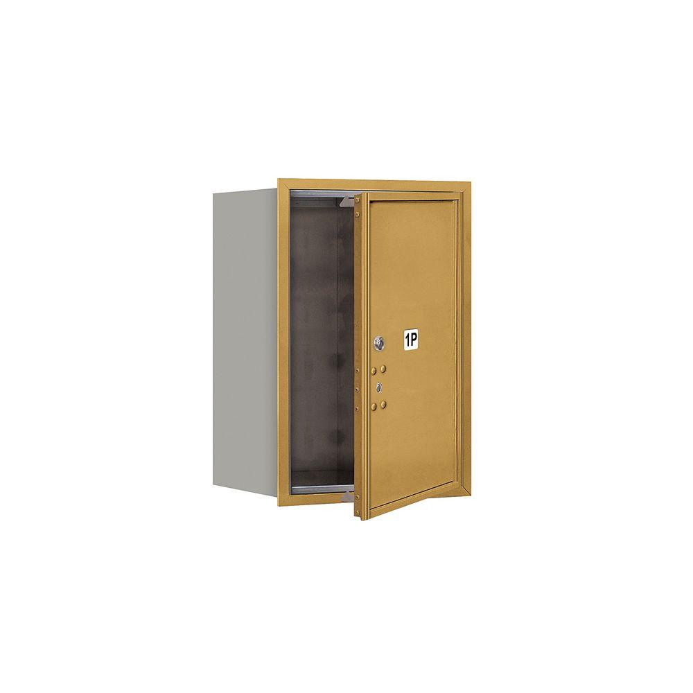 3700 Series 23-1/2 in. 6 Door High Unit Parcel Locker 1