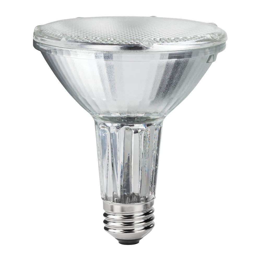 philips 75w equivalent halogen par30l dimmable floodlight bulb 419549 the home depot. Black Bedroom Furniture Sets. Home Design Ideas