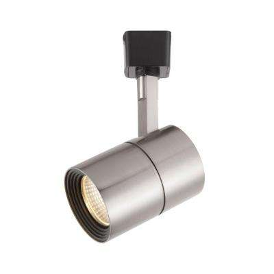 Brushed Nickel Dimmable Led Cylinder Track Lighting Fixture