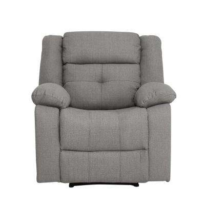Eastfield Grey Fabric Recliner