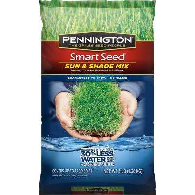 Smart Seed 3 lb. Sun and Shade Central Grass Seed