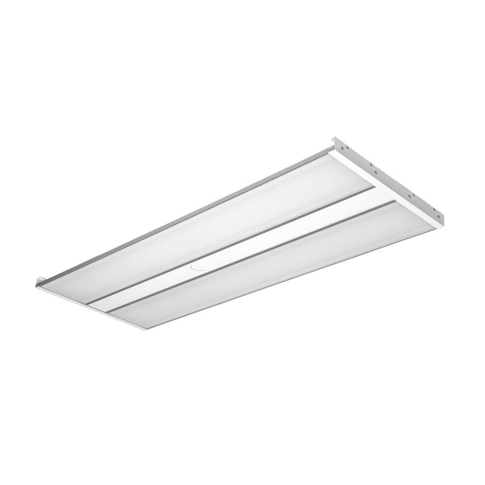 White LED 323 Watt Linear High Bay Fixture With Natural
