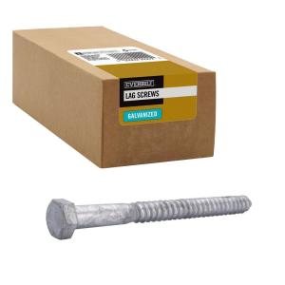 3//8x3 Hex Lag Screws 100 The best fasteners Plain