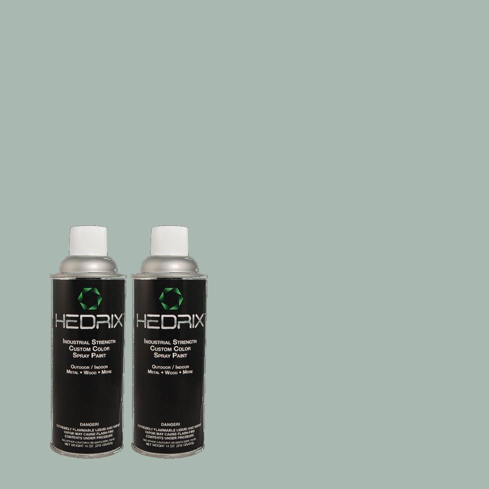 Hedrix 11 oz. Match of PPU13-12 Harmonious Low Lustre Custom Spray Paint (8-Pack)