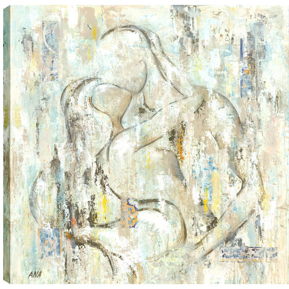 Love II, Figurative Art, Fresh Printed Canvas Wall Art Decor Gallery Wrapped Wall Art