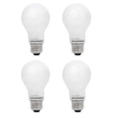Case of 75 LED Light Bulbs LED5A19//5K Non-Dimmable