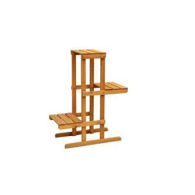 30 in. x 12 in. x 24 in. 3-Tier Plant Stand