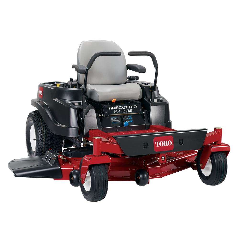 Toro TimeCutter MX5025 50 in. Fab 23 HP Kawasaki V-Twin Gas Zero-