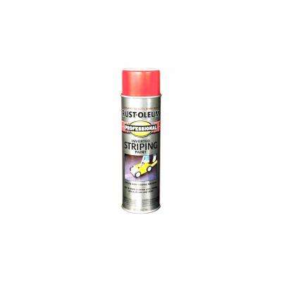 18 oz. Flat Red Inverted Striping Spray Paint (6-Pack)