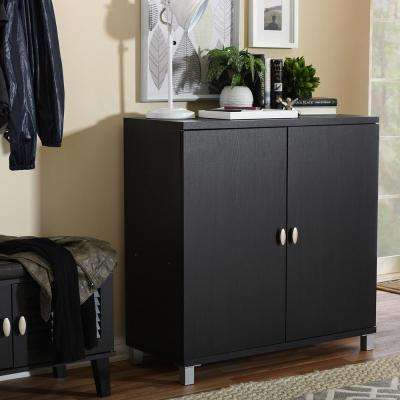 Marcy Dark Brown Storage Cabinet