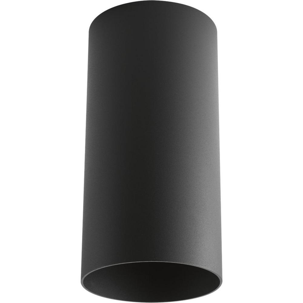 Black Integrated LED Outdoor Flush Mount