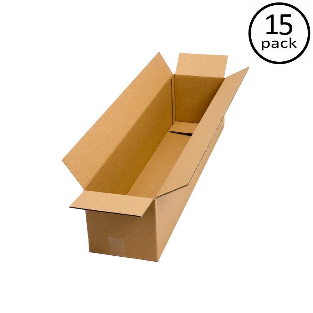 36 in. L x 12 in. W x 12 in. D Moving Box (15-Pack)