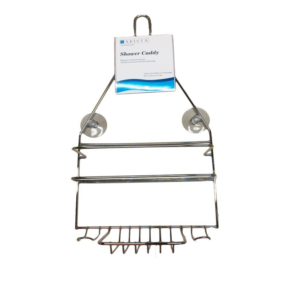 ARISTA Hanging Over-the-Shower Caddy in Chrome