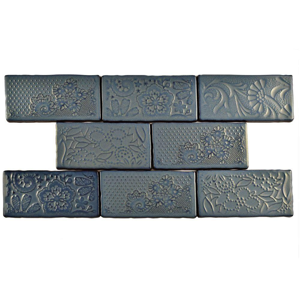 Merola tile antic feelings griggio 3 in x 6 in ceramic wall tile merola tile antic feelings griggio 3 in x 6 in ceramic wall tile dailygadgetfo Choice Image