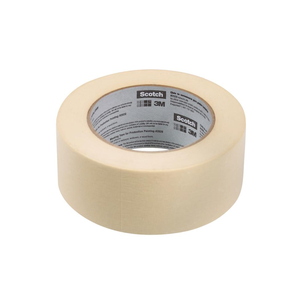 Scotch 1.88 in. x 60 yds. General Purpose Masking Tape (3-Pack)