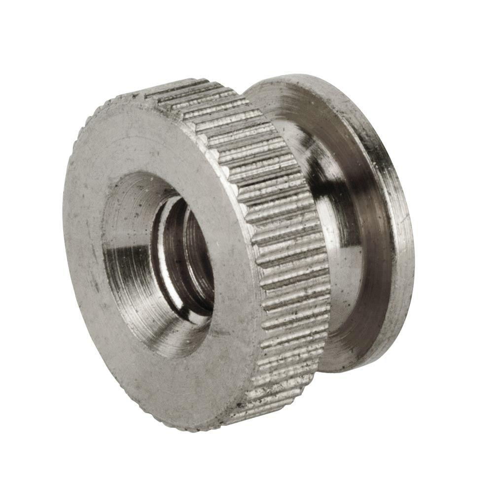 #10-32 tpi Stainless-Steel Knurled Nut (2-Piece per Bag)