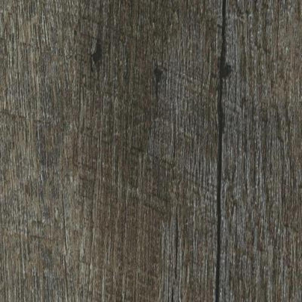 Take Home Sample - Oak Graphite Click Lock Luxury Vinyl Plank Flooring - 6 in. x 9 in.