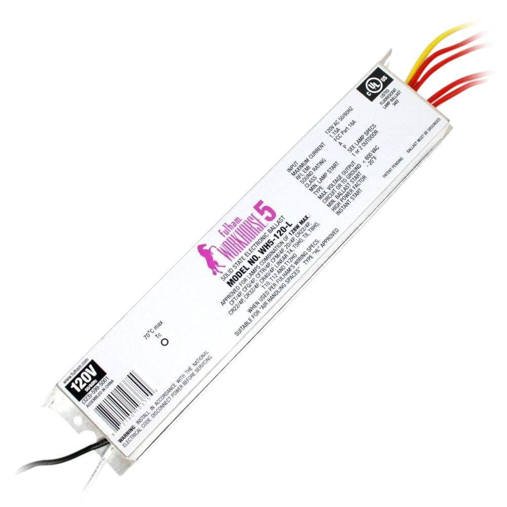 fulham accessories wh5 120 l 64_1000 fulham 128 watt 120 volt fluorescent electronic ballast wh5 120 l fulham ballast wh5-120-l wiring diagram at alyssarenee.co