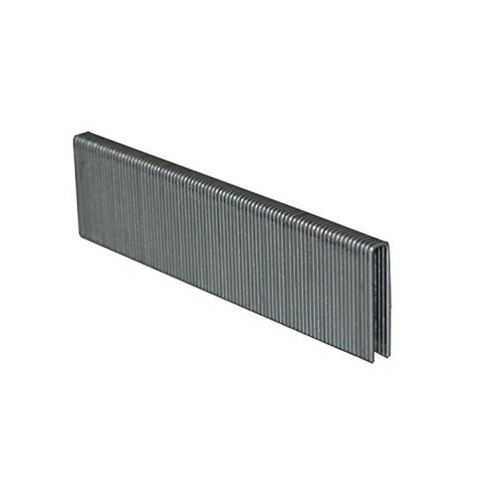 5/8 in. L 1/4 in. Narrow Crown 18-Gauge 304 Stainless Steel Staples (2,500-Piece)