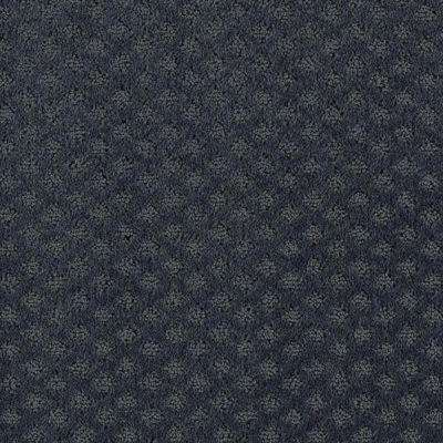 Carpet Sample - Lilypad - Color Colonial Blue Pattern 8 in. x 8 in.
