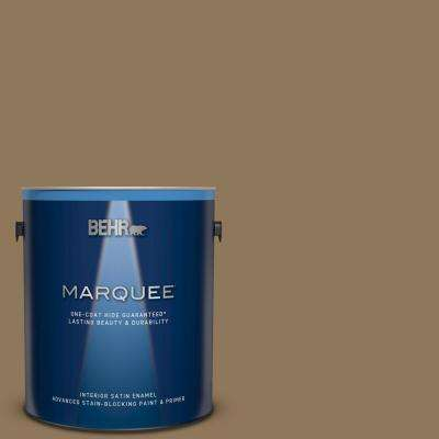 1 gal. #N300-6 Archaeological Site Satin Enamel Interior Paint and Primer in One