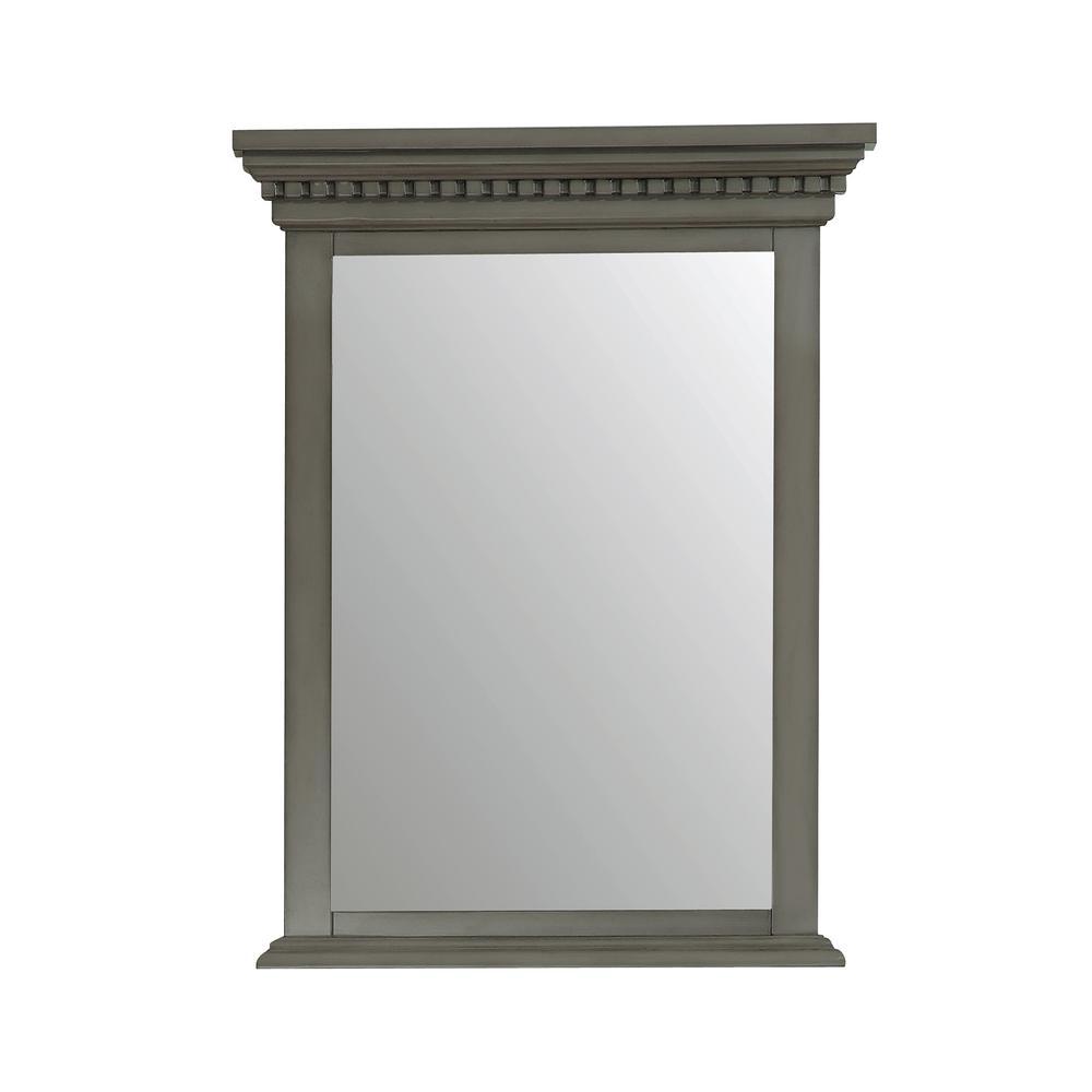 Hastings 24 in. W x 32 in. H Framed Mirror in