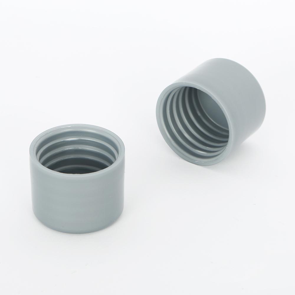 Everbilt 1-1/4 in. Platinum Closet Pole End Caps (2-Pack)