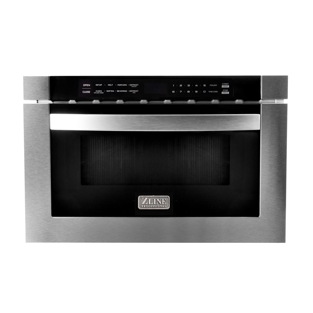 ZLINE Kitchen and Bath 24 in. 1.2 cu. ft. Microwave Drawer in Stainless Steel
