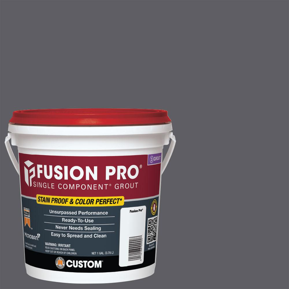 Custom Building Products Fusion Pro #370 Dove Gray 1 Gal. Single Component Grout