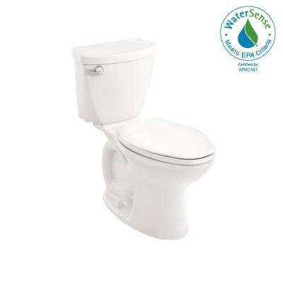 Cadet 3 Tall Height Complete 10 in. Rough-In 2piece 1.28 GPF Single Flush Elongated Toilet in White with Slow Close Seat