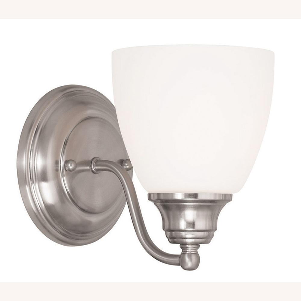 Somerville 1-Light Brushed Nickel Wall Sconce