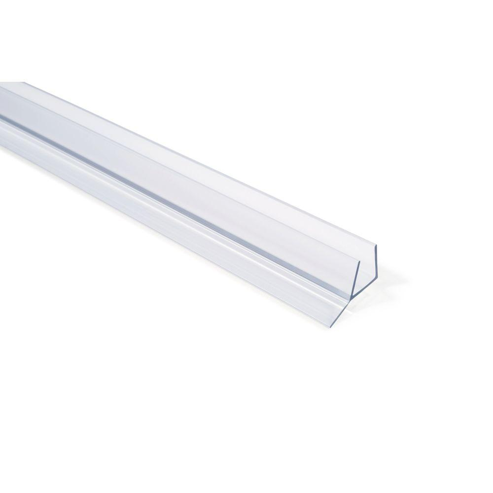 shower glass full clear h window hardware door seal shape sl horme product