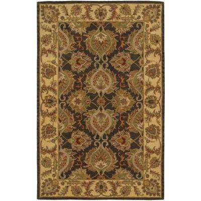 India House Green 5 ft. x 8 ft. Area Rug