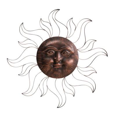 Metal Outdoor Wall Sculptures Outdoor Wall Decor The Home Depot