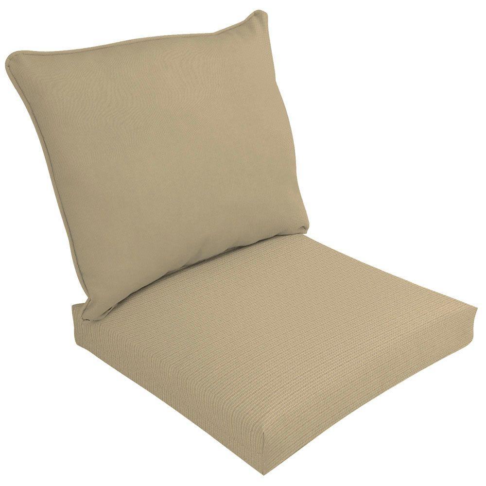 Sunbrella Spectrum Sand Outdoor Cushion Set-DISCONTINUED