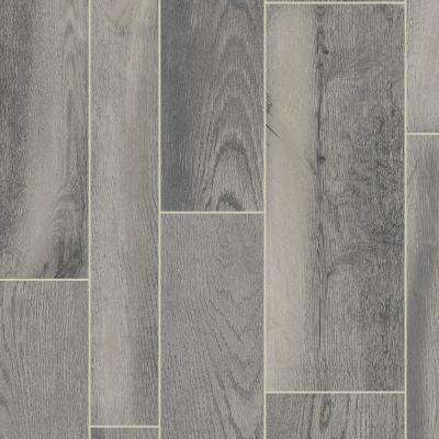 CushionStep Better with Diamond 10 Technology 12 ft. Width x Custom Length Oak Wolf Run Residential Vinyl Sheet Flooring