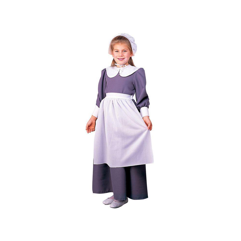 aa063ad1c1650 Rubie's Costumes Colonial Pilgrim Girl Child Costume-R10557_L - The ...