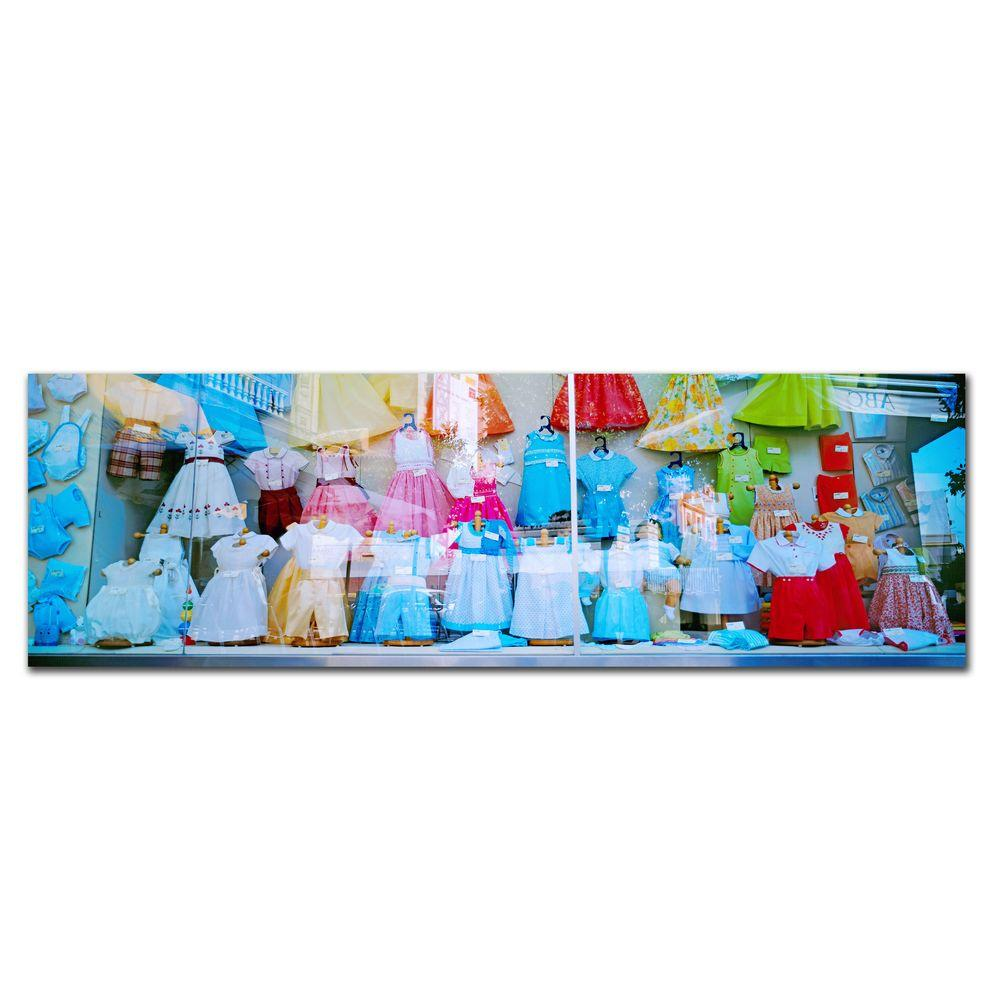 null 10 in. x 32 in. The Window Canvas Art