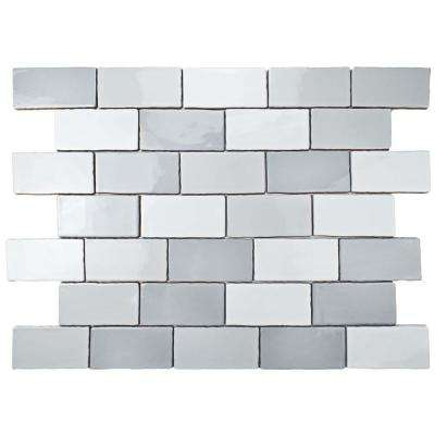 Antic Craquelle Gris Mix 3 In X 6 Ceramic Wall Tile